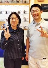 【肩こりで来院】 横浜市金沢区在住 横尾信子さん 60代 団体職員