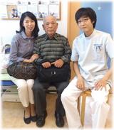【腰痛と首や肩のこりで来院】 横浜市中区在住 Y・Tさん 80代