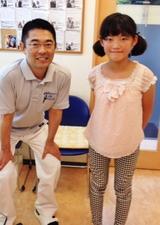 【首の痛みで来院】 横浜市中区在住 Y・Hさん 小学6年生