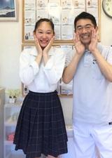 【O脚が気になり来院】 横浜市戸塚区在住 中田佳澄さん 学生